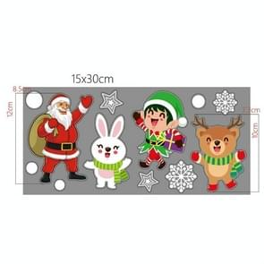 20 PCS Muur Stickers Electrostatic Window Glass Stickers Kerststickers (Santa Claus)