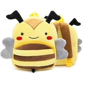 Kids 3D Animal Velvet Rugzakken Kinderen Cartoon Kindergarten Toys Gifts School tassen (Bee)