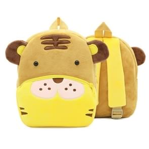 Kids 3D Animal Velvet Backpacks Children Cartoon Kindergarten Toys Gifts School Bags(Tiger)