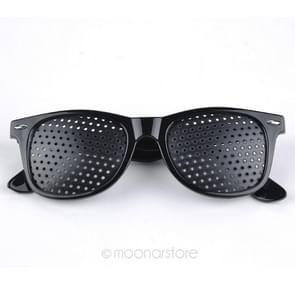 2 PCS Vision Correction Spectacles Eyesight Improver Pin Hole Eyes Training Exercise Glasses Eyewear