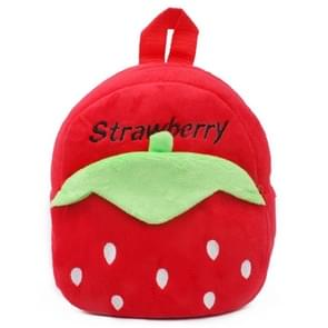 Kids Cartoon Backpack Kindergarten Children Cute School Bag Baby Girls Schoolbag(Strawberry)