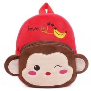 Kids Cartoon Backpack Kindergarten Children Cute School Bag Baby Girls Schoolbag(Monkey)