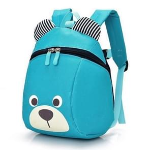 Children Anti-lost Backpack Toddler Cartoon School Bag(Sky blue)