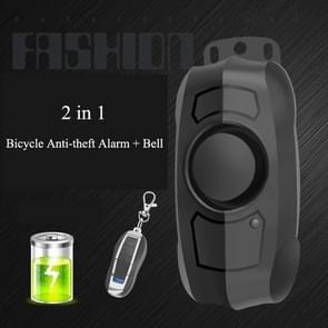 Bicycle Lock Anti-theft Anti-lost USB Charging Wireless Remote Control Vibration Alarm Detector Sensor