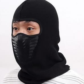 Winter Cycling Fleece Warm Full Face Cover Anti-dust Windproof Ski Mask Thermal Balaclavas Scarf
