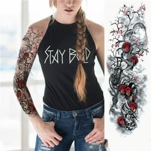 Grote arm mouw waterdichte tijdelijke tattoo sticker (TQB-006)