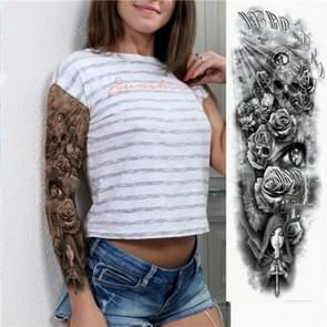 Large Arm Sleeve Waterproof Temporary Tattoo Sticker(TQB-002)