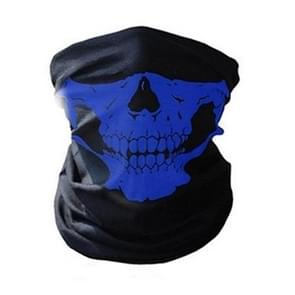 Skull Mask Bandana Cycling Helmet Neck Face Mask Half Face Sports Headband