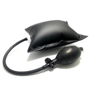 Universele opblaasbare luchtpomp auto reparatie auto VENSTERDEUR sleutel verloren lucht wig airbag lock-out noodgevallen open Unlock pad Tool Kit (zwart)