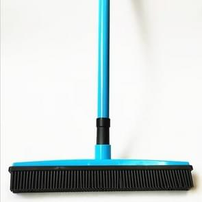 2 PCS Pet Carpet Hair Removal Broom Scraping Dust-free Hand-washing Mop Rubber Floor Brush