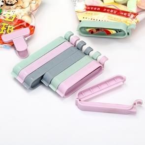 12 PCS Bag Clips Snack Food Storage Bag Sealer Kitchen Tool accessories Mini Vacuum Sealer Clamp Food Clip