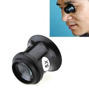Watch Repair Tool Eyepiece Repair Watch Eye Mask Magnifier, Color:5X