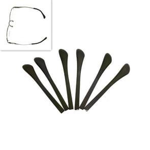 10 paar vierkante gat metalen Spectacles voet cover silicone antislip fijne spiegel been cover glazen accessoires
