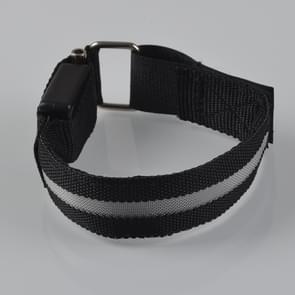 Colorful Nylon Night Sports LED Light Armband Light Bracelet, Specification:Battery Version
