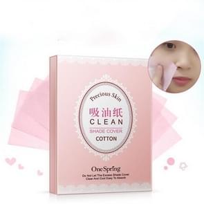 2 stuks Fresh clean acne Remover olie absorberend papier gezicht schoonmaken tool