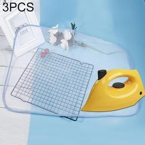 3 PCS 40x60cm Protective Press Mesh Bag Home Ironing Cloth Guard Protect