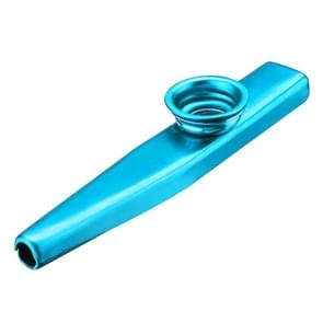 10 STKS metalen Kazoo kinderen begeleidings instrument (blauw)