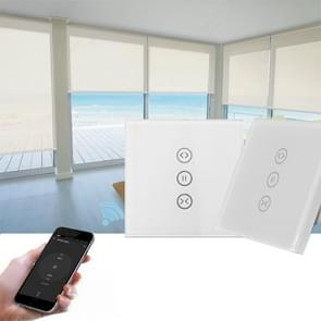 SM-SW101-C Wifi Smart Touch Curtain Wwitch Voice Control by Alexa and Google Phone Control For  Electric Curtain  Motor