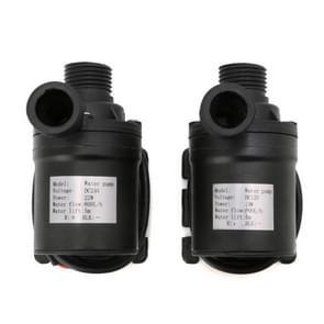 2 stuks 800L/H debiet zonne-borstelloze motor watercirculatie irrigatie pomp duikboten waterpompen (12V)