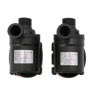 2 PCS 800L/H Flow Rate Solar Brushless Motor Water Circulation Irrigation Pump Submersibles Water Pumps(24V)