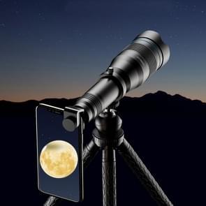 APEXEL APL-JS60XJJ09 All Metal 60X HD Externe Vergroottelescoop Universele Telephoto Mobiele Telefoon Lens