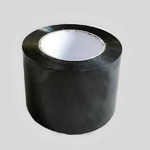 Waterproof Silicone Repair Tape Bonding Rescue Self Fusing Wire Hose Transparent Film Tape(Black)