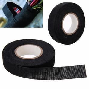Heat-resistant Wiring Harness Tape Looms Wiring Harness Cloth Fabric Tape Adhesive Cable Protection 25M
