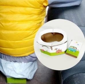 Portable Travel Urine Bag Emergency Mobile Mini Toilet Folding Potty