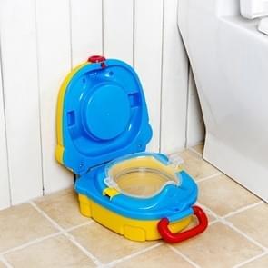 Children Small Toilet Children Portable Toilet Travel Portable Car-mounted(yellow)