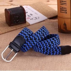 Doek riemen Jeans Casual schouderbanden (zwart + blauw)