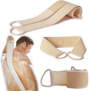 Soft Skin Care Exfoliating Loofah Sponge Back Strap Bath Shower Body Massage Spa Cleaning Scrubber Brush Tool