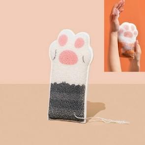 Cat Paw Bath Cotton Baby Bath Ball Kinderen Rub Badhanddoek Bad Wipe (Schaar)