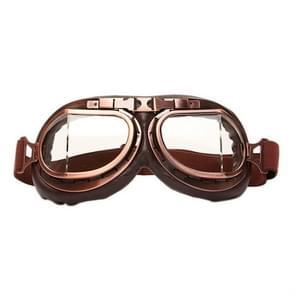 Beschermende bril stofdichte anti-wind/zand rijden motorfiets Goggles industriële bril (transparante lens)