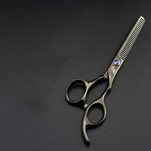 Professional Hair Cutting Scissor Hairdressing Kit Thinning Scissors Barber(Black Thinning(SXLC-602T))