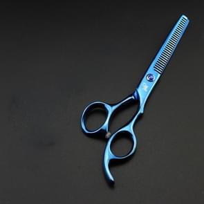 Professional Hair Cutting Scissor Hairdressing Kit Thinning Scissors Barber(Blue Thinning(SXLC-604T))