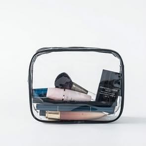 Transparent PVC Bags Travel Organizer Clear Makeup Bag Pouch Wash Bags(S)