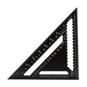 Angle Ruler Measuring Tool For Woodworking Square Layout Gauge(12 Inch Black)