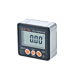 IP54 Precision Electronic Digital Display Inclinometer 4 x 90 graden Protractor Angle Box