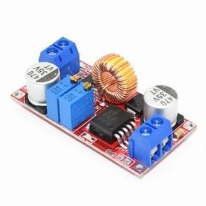 XL4015 hoge stroom 5A constante stroom en constante spanning LED-aandrijving lithium-ion batterij opladen power module (rood)