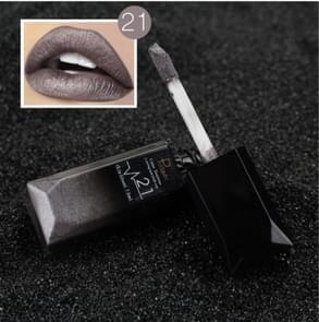 Waterproof Lip Gloss Matte Lipstick Cosmetics Makeup Nude(21#)