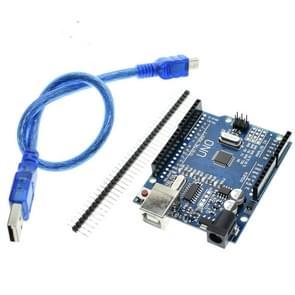 UNO R3 CH340G verbeterd versie Ontwikkelingsbord met 50cm USB-kabel