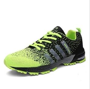 Outdoor Antiskid Breathable Trekking Hunting Tourism Mountain Sneakers Casual Shoes, Shoe Size:6(Fluorescent Green)