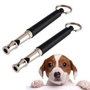 Pet Dog Obedience Quiet Training Ultrasonic Supersonic Sound Pitch(black)