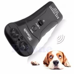 3 PCS Ultrasonic Dog Chaser Stop Aggressive Animal Attacks Repeller Flashlight