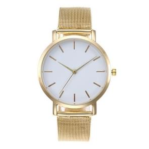 2 PCS Women Wrist Watch Luxury Ladies Watch(Gold)