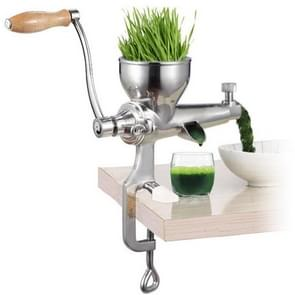 Stainless Steel Manual Wheat Grass Juicer Vegetables Extractor Machine