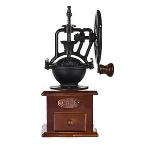 Manual Coffee Grinder Antique Cast Iron Hand Crank Coffee Machine