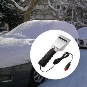 12V Electric Heated Car Ice Scraper Automobiles Cigarette Lighter Snow Removal Shovel