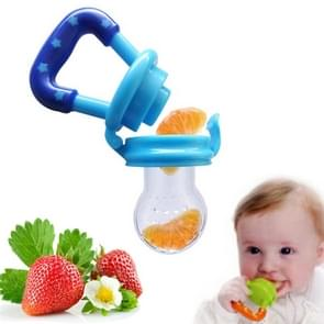 3 PCS Portable Baby Infant Food Nipple Feeder Silicone Pacifier Silicone Baby Soother, Random Color, Size:L