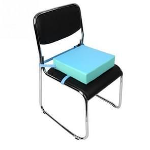 3 stuks kinderen verhoogd stoel pad verwijderbare Kid stoel stoel pad met gesp riem (blauw)
